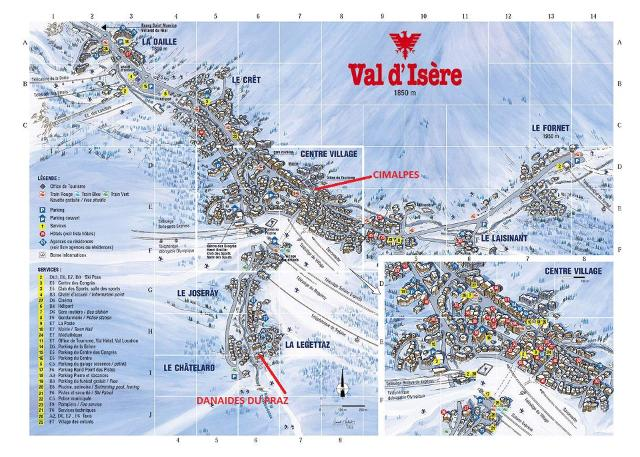 Appartements Residence Danaides Du Praz